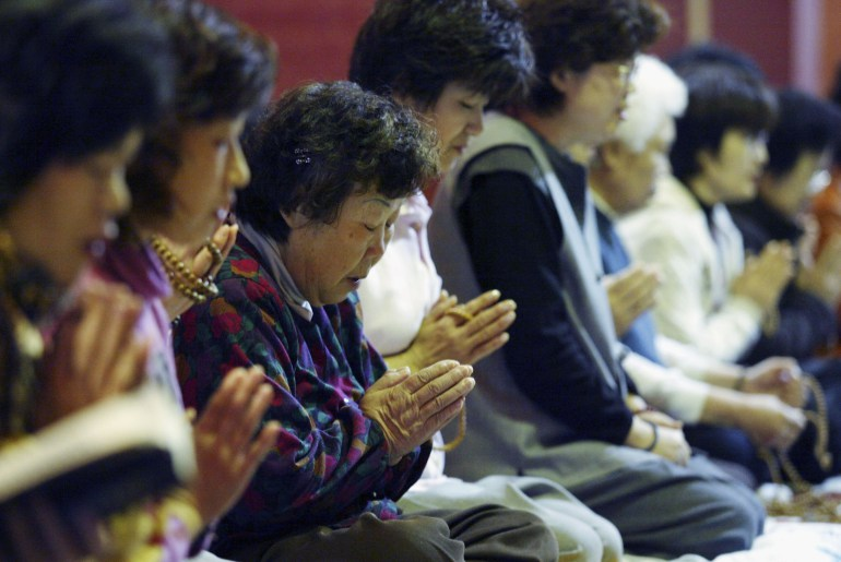 Parents Pray Ahead Of College Scholastic Ability Tests